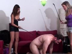 Ass 18 :Cruel Girls Spank Joschi