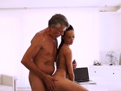 Ass 18 :Spanish Mature Younger Finally She039s Got Her Boss Dick