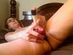 Ass 18 :Granny Mastrubating On Skype